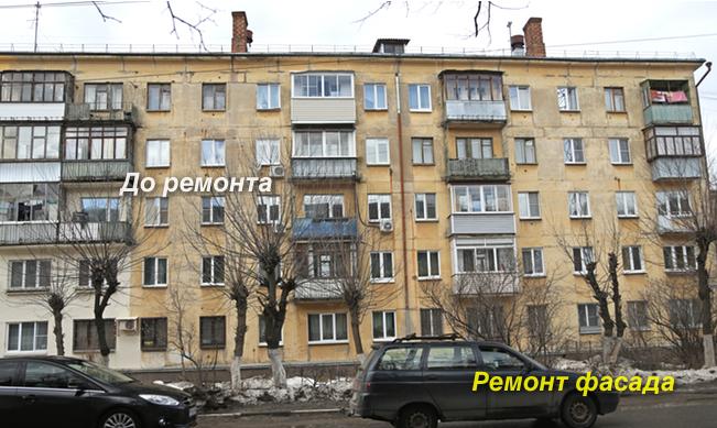 Покраска фасада альпинистами зданий в Москве
