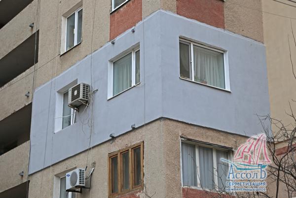 Стоимость работ по утеплению и штукатурке фасада