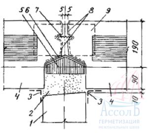 Герметик монтажный для герметизации стыков