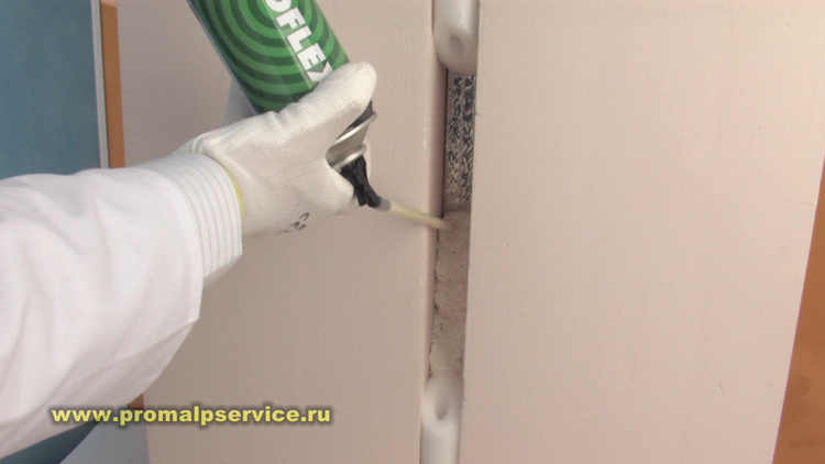 Утепление панельных стен пенополистирол